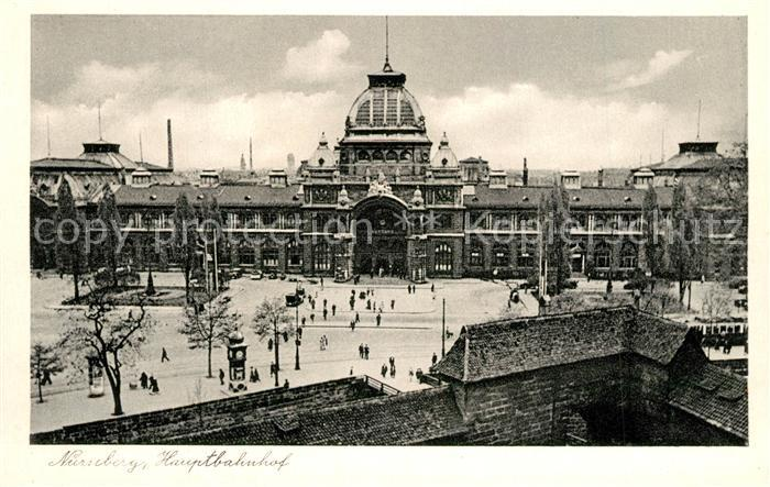 AK / Ansichtskarte Nuernberg Hauptbahnhof Nuernberg