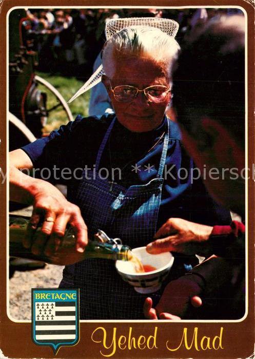 AK / Ansichtskarte Wein Cidre Bretagne  Wein
