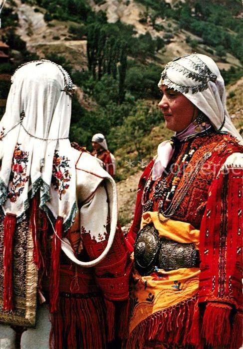 AK / Ansichtskarte Trachten Mazedonien Smilevo   0