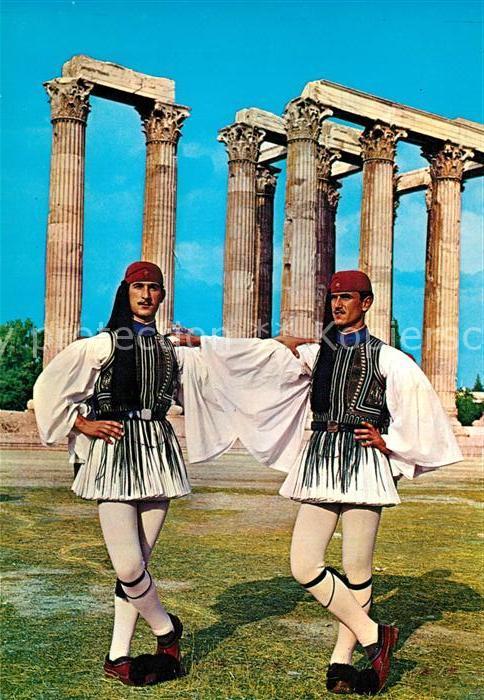 AK / Ansichtskarte Leibgarde_Wache Griechenland Evzonen   0