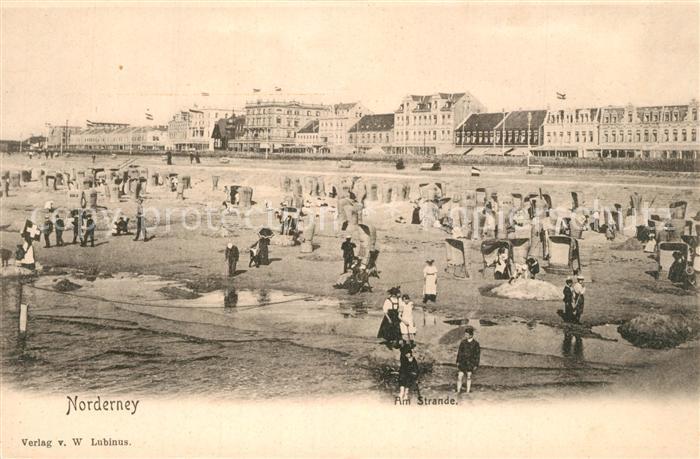 AK / Ansichtskarte Norderney_Nordseebad Strand Hotels Norderney_Nordseebad 0