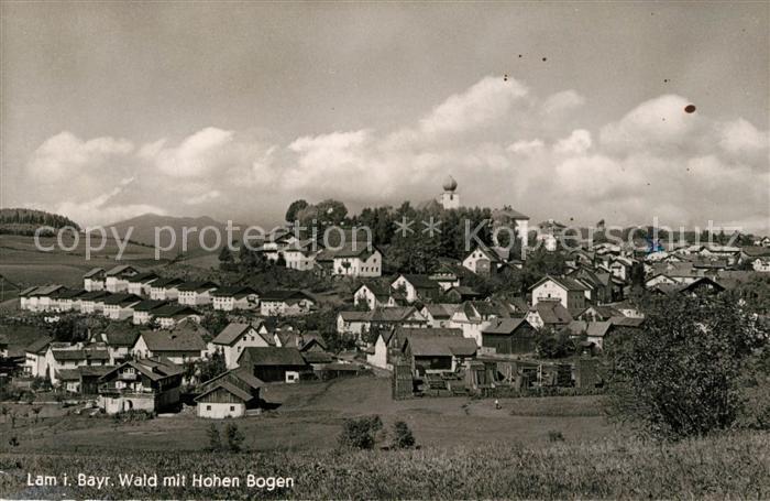 AK / Ansichtskarte Lam_Oberpfalz Wald mit Hohen Bogen Lam_Oberpfalz 0