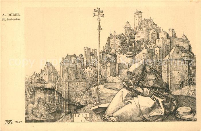 AK / Ansichtskarte Duerer_Albrecht_Nuernberg St Antonius  0