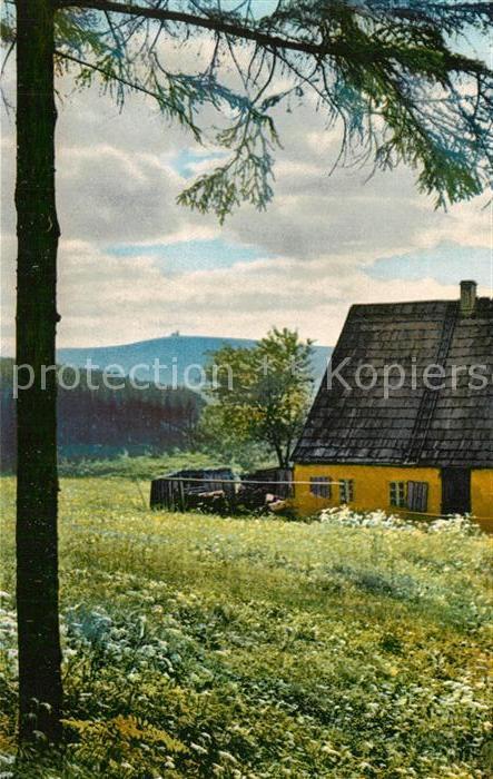 AK / Ansichtskarte Oberwiesenthal_Erzgebirge Motiv bei Unterwiesenthal Oberwiesenthal Erzgebirge 0
