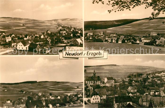 AK / Ansichtskarte Neudorf_Annaberg Panorama Neudorf Annaberg