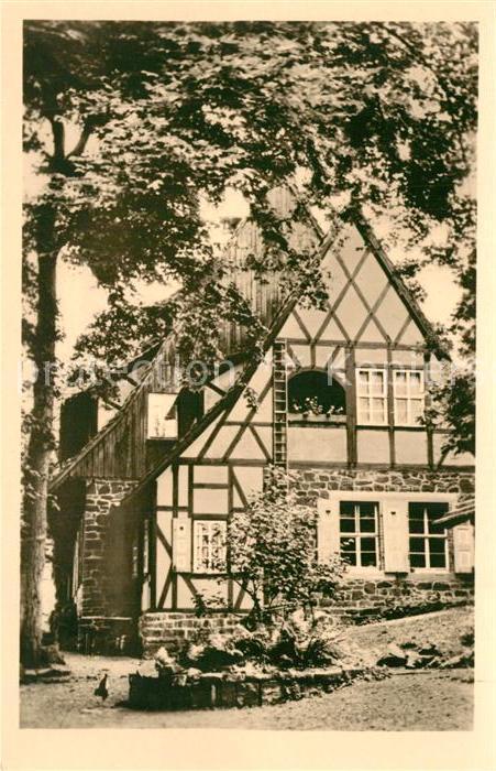 AK / Ansichtskarte Neustadt_Harz Ruine Hohnstein Gasthaus Neustadt_Harz 0