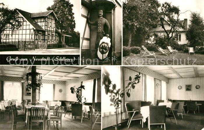 AK / Ansichtskarte Neustadt_Harz RFZ Betriebsferienheim Haus Waldfrieden Neustadt_Harz 0