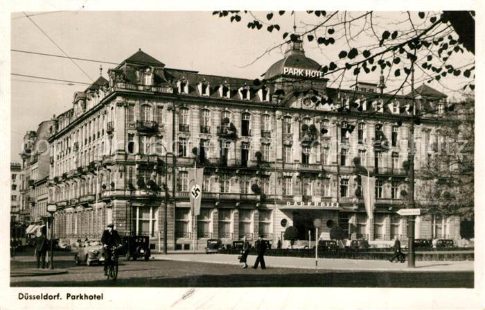 AK / Ansichtskarte Duesseldorf Parkhotel Duesseldorf 0