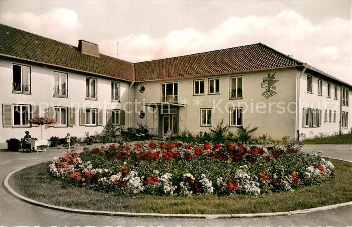 AK / Ansichtskarte Bad_Driburg Ev Alters und Pflegeheim Ostland Wehme Bad_Driburg 0