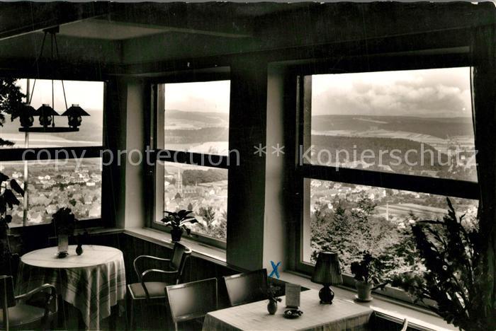 AK / Ansichtskarte Bad_Driburg Blick von der Sachsenklause auf der Iburg Bad_Driburg 0