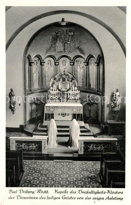AK / Ansichtskarte Bad_Driburg Kapelle des Dreifaltigkeits Klosters Bad_Driburg 0