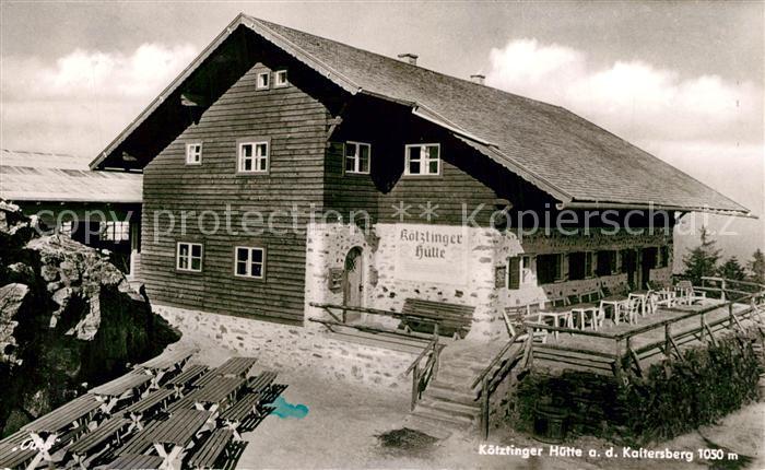 AK / Ansichtskarte Koetzting Koetztinger Huette auf dem Kaitersberg Koetzting 0