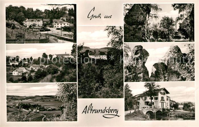 AK / Ansichtskarte Altrandsberg Orts und Teilansichten Pfahl Altrandsberg 0
