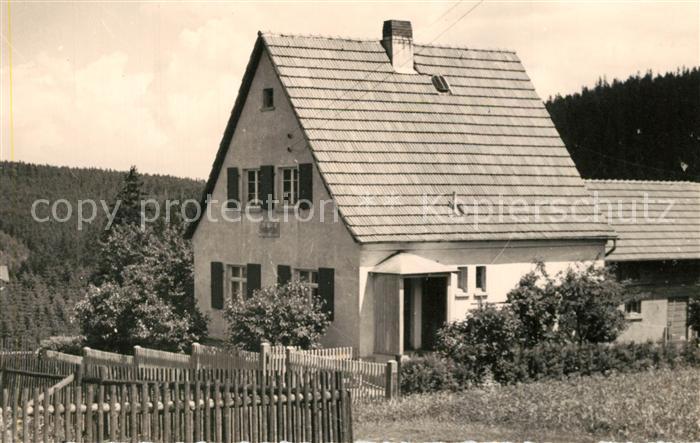 AK / Ansichtskarte Finsterbergen Wohnhaus Finsterbergen 0