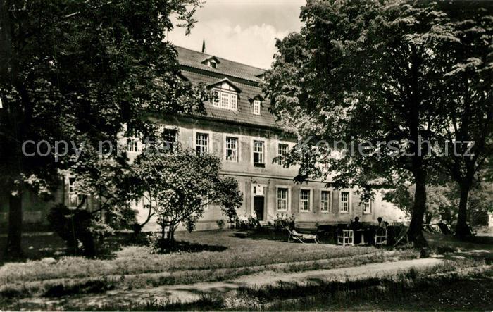 AK / Ansichtskarte Lengenfeld_Stein FDGB Erholungsheim Bischofstein im Park  0