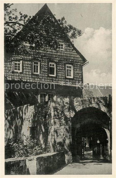 AK / Ansichtskarte Worbis Schloss Bodenstein Worbis
