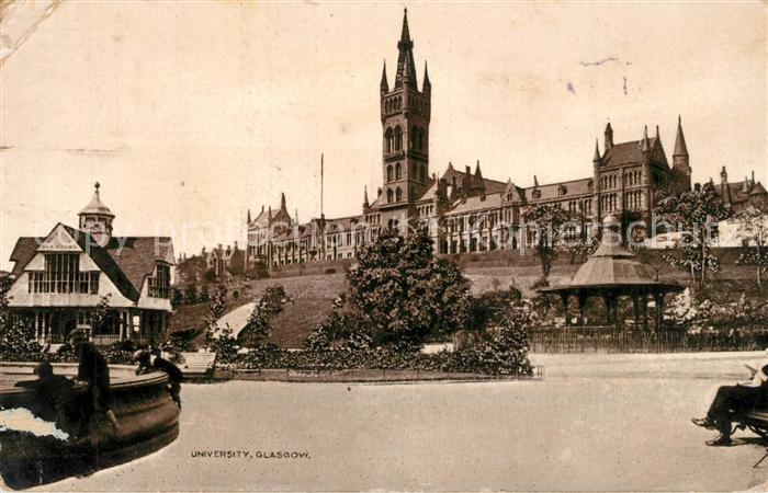 AK / Ansichtskarte Glasgow University Glasgow 0