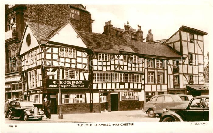 AK / Ansichtskarte Manchester_GB The old Shambles  0