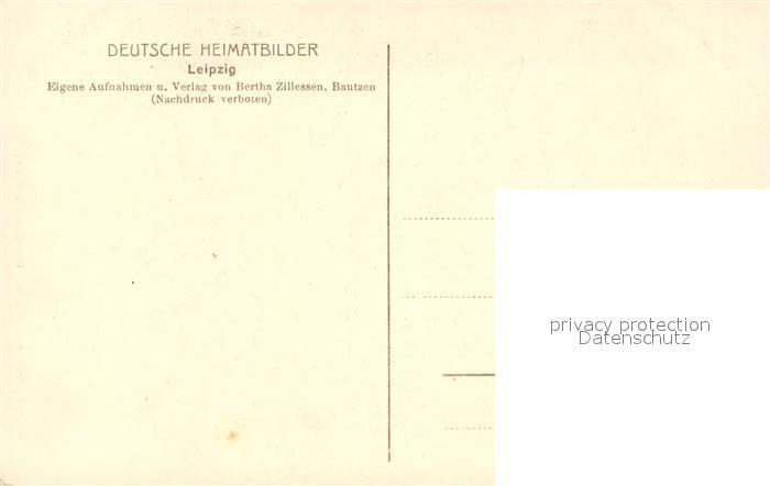 AK / Ansichtskarte Leipzig Goethe Denkmal Leipzig 1