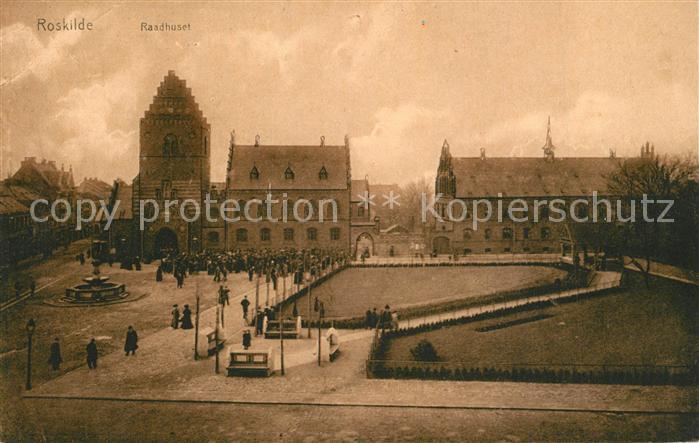 AK / Ansichtskarte Roskilde Rathaus Roskilde 0