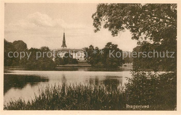 AK / Ansichtskarte Bregentved Schloss See Bregentved 0