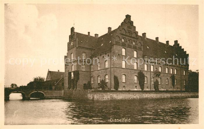 AK / Ansichtskarte Gisselfeld Wasserschloss Gisselfeld