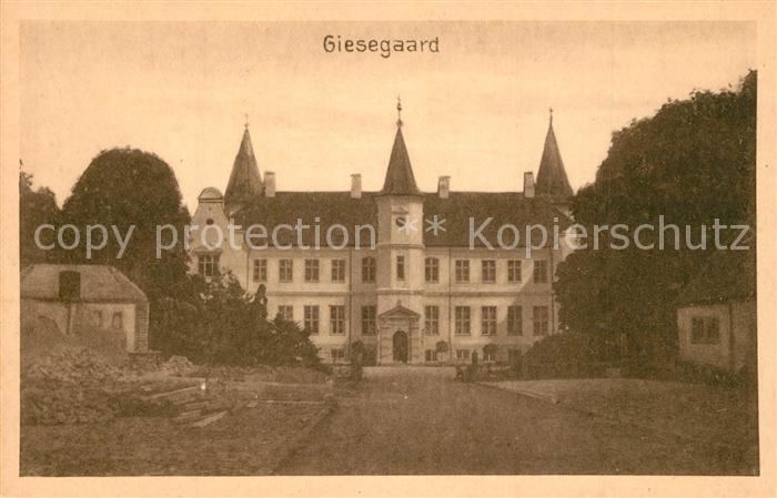 AK / Ansichtskarte Ringsted_Vestsjalland Schloss Giesegaard Ringsted_Vestsjalland 0