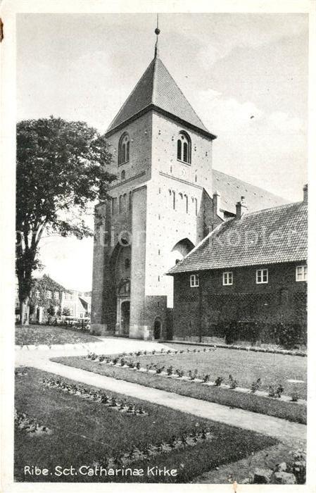 AK / Ansichtskarte Ribe Catherinae Kirke Kirchturm Ribe