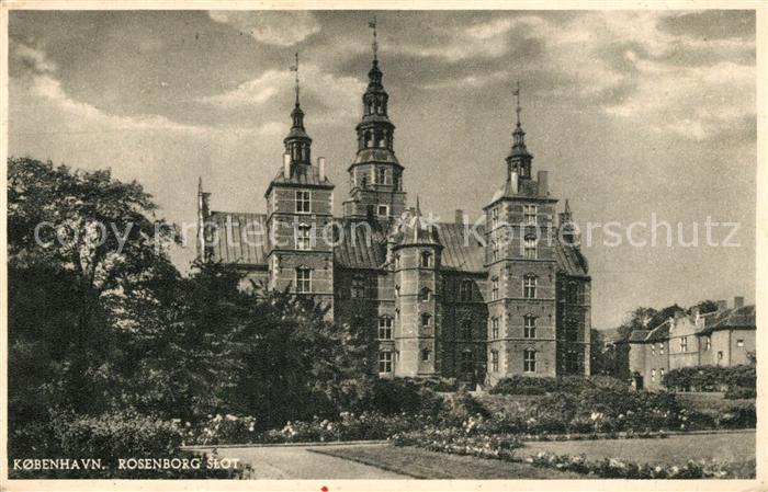 AK / Ansichtskarte Kobenhavn Rosenborg Slot Kobenhavn 0
