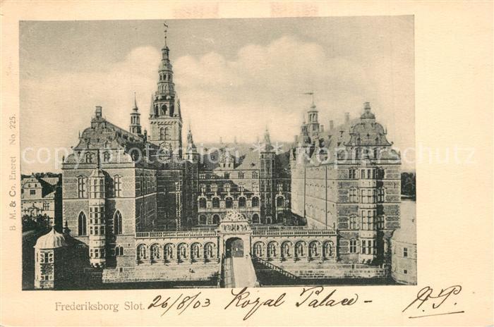 AK / Ansichtskarte Frederiksborg Slot Frederiksborg 0