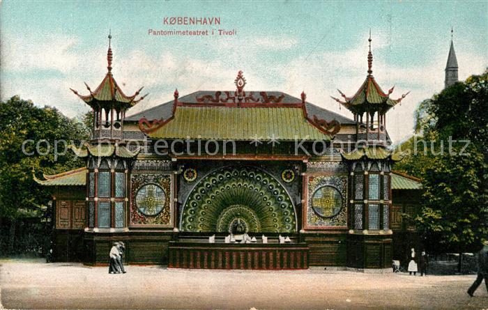 AK / Ansichtskarte Kobenhavn Pantomimiteatret Tivoli Kobenhavn