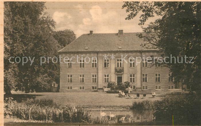 AK / Ansichtskarte Falster Schloss Korselitse Falster 0