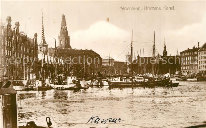 AK / Ansichtskarte Kobenhavn Holmens Kanal Kobenhavn 0