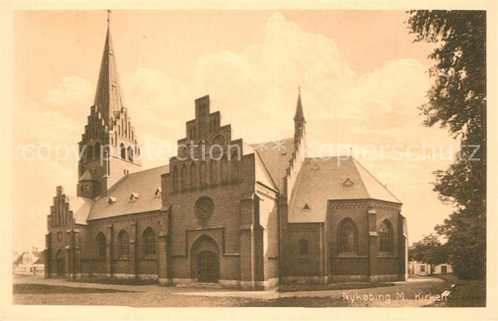 AK / Ansichtskarte Nykoebing Kirche Nykoebing 0