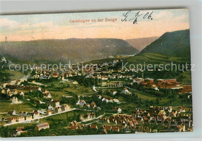 AK / Ansichtskarte Geislingen_Steige Panorama Geislingen_Steige 0