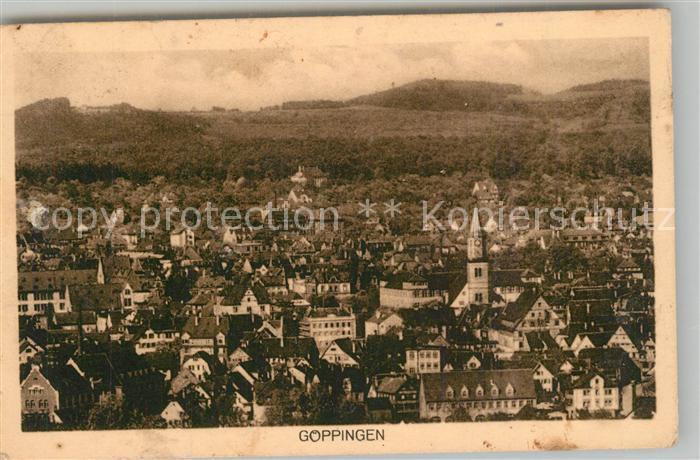 AK / Ansichtskarte Goeppingen Stadtpanorama Goeppingen