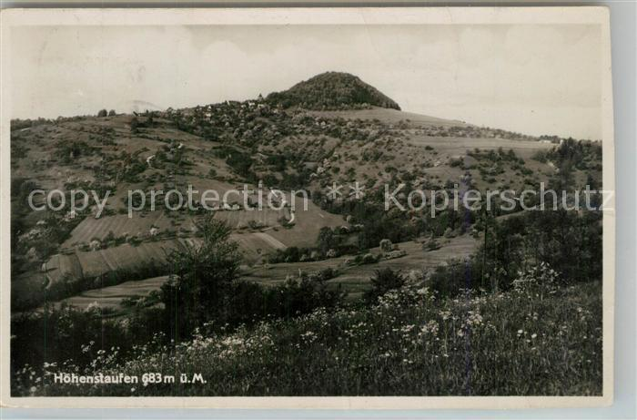 AK / Ansichtskarte Goeppingen Landschaftspanorama mit Blick zum Hohenstaufen Goeppingen 0