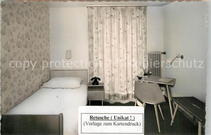 AK / Ansichtskarte Goeppingen Hotel Hohenstaufen Fremdenzimmer Goeppingen 0