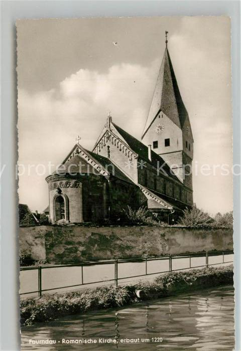 AK / Ansichtskarte Faurndau Romanische Kirche erbaut um 1220 Faurndau