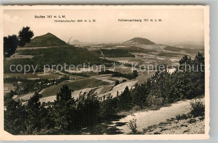 AK / Ansichtskarte Goeppingen Landschaftspanorama mit Stuifen Hohenstaufen Hohenrechberg Goeppingen 0