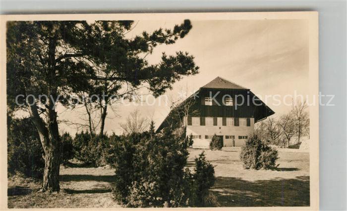 AK / Ansichtskarte Goeppingen Wasserberghaus Schwaebischer Albverein Goeppingen 0