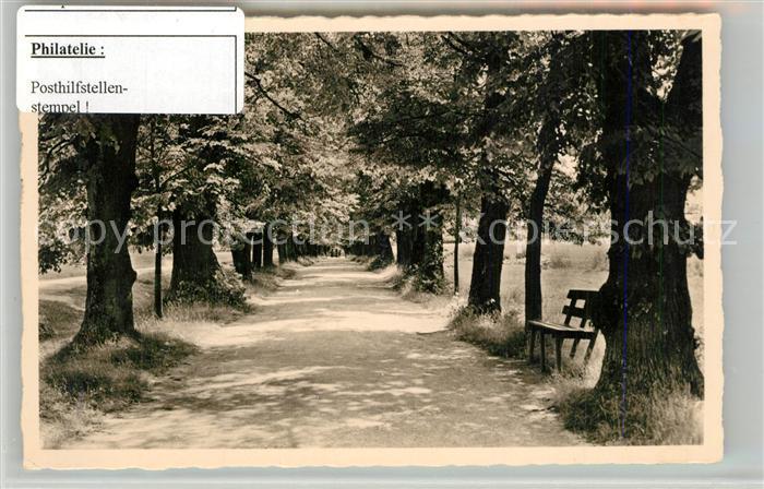 AK / Ansichtskarte Bad_Boll Lindenallee Stempel Posthilfstelle Bad_Boll