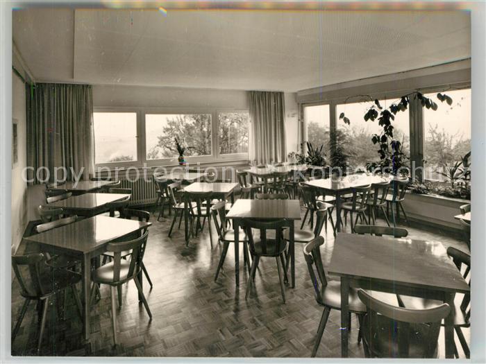 AK / Ansichtskarte Hohenstaufen Jugendherberge Speisesaal Hohenstaufen