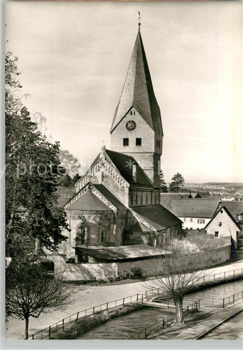 AK / Ansichtskarte Faurndau Evangelische Kirche Faurndau