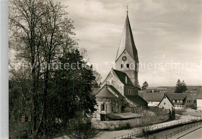 AK / Ansichtskarte Faurndau Evangelische Kirche Faurndau 0