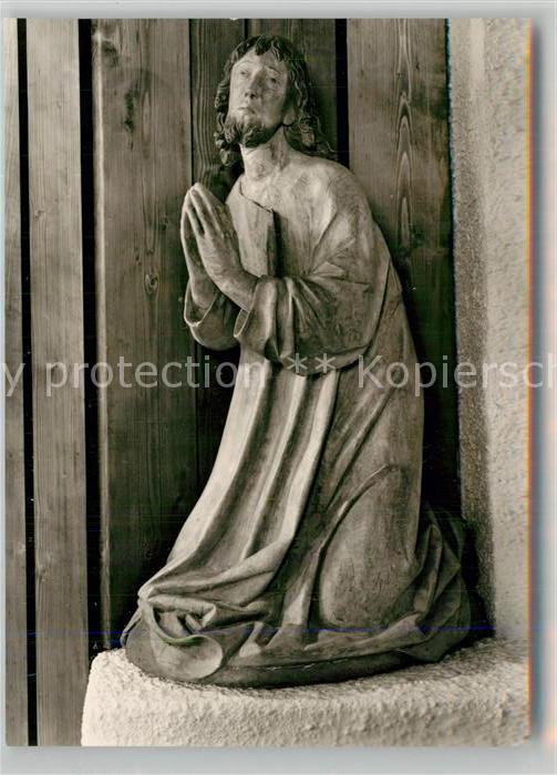 AK / Ansichtskarte Eybach_Geislingen_Steige Katholische Kirche Christusfigur Eybach_Geislingen_Steige 0