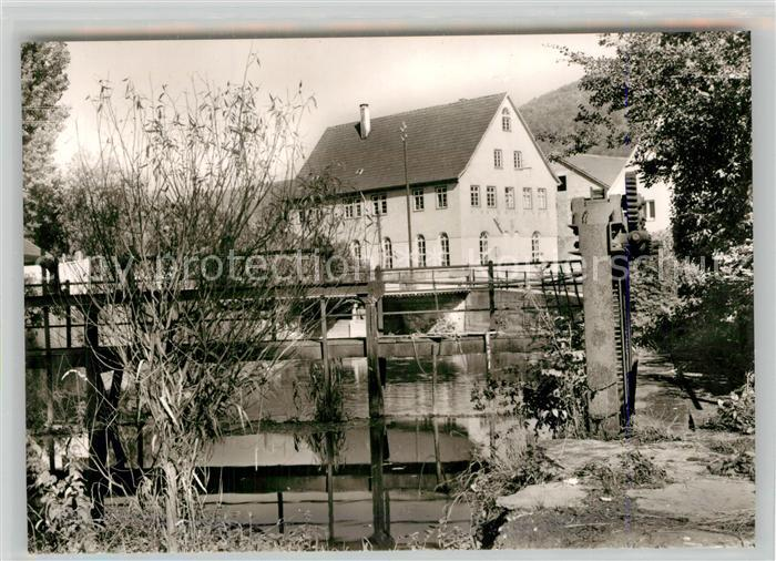 AK / Ansichtskarte Geislingen_Steige Partie am Wehr Geislingen_Steige 0