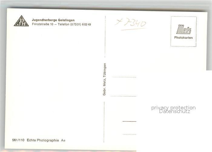 AK / Ansichtskarte Geislingen_Steige Partie am Wehr Geislingen_Steige 1