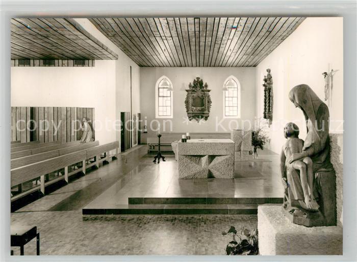 AK / Ansichtskarte Eybach_Geislingen_Steige Katholische Kirche Innenansicht Eybach_Geislingen_Steige 0