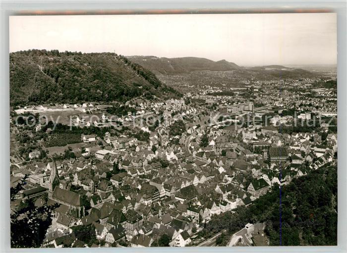 AK / Ansichtskarte Geislingen_Steige Panorama Blick ins Tal Schwaebische Alb Geislingen_Steige 0